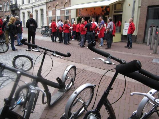 100 Steppers bij De Graven van Leuven