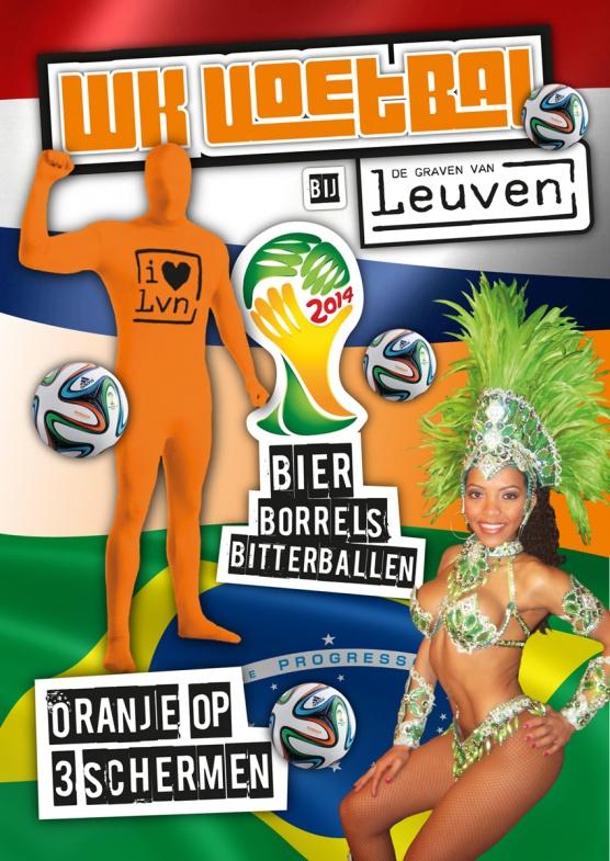 Kom Oranje aanmoedigen bij De Graven van Leuven!